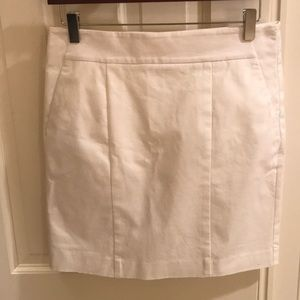 Dresses & Skirts - Ann Taylor Madison White Pencil Skirt